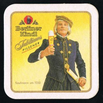 Berliner Kindl Bierdeckel
